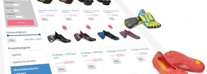 Testat barfotaskor ännu? Kolla in det stora utbudet minimalistiska löparskor här!