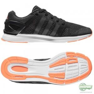 adidas adidas – Löparskor Adizero Feather Prime Svart/Grå/Orange Dam