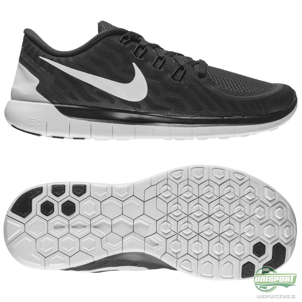 Nike Nike Free - Löparskor 5.0 Svart/Grå/Vit Dam