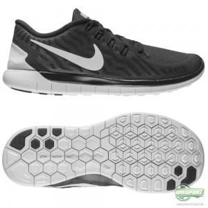 Nike Nike Free – Löparskor 5.0 Svart/Grå/Vit