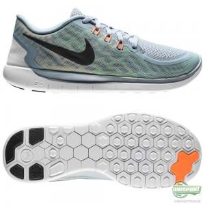 Nike Nike Free – Löparskor 5.0 Grå/Svart/Grön Barn