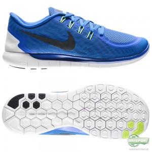 Nike Nike Free – Löparskor 5.0 Blå/Svart