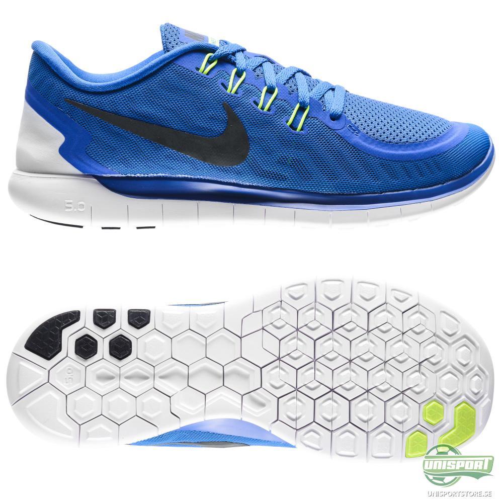 Nike Nike Free - Löparskor 5.0 Blå/Svart