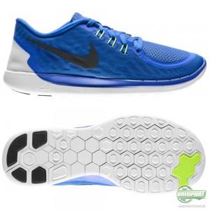 Nike Nike Free – Löparskor 5.0 Blå/Turkos/Svart Barn