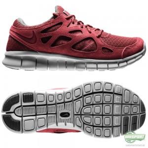Nike Nike Free – Löparskor Run 2 Röd/Grå