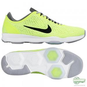 Nike Nike – Löparskor Zoom Fit Neon//Svart/Vit Dam