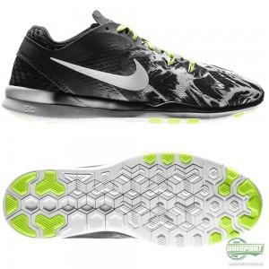 Nike Nike – Free 5.0 TR FIT 5 Svart/Neon/Vit Dam