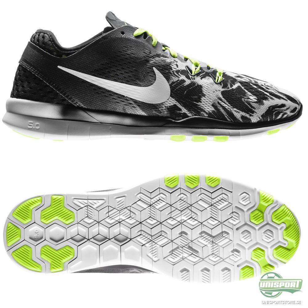 Nike Nike - Free 5.0 TR FIT 5 Svart/Neon/Vit Dam