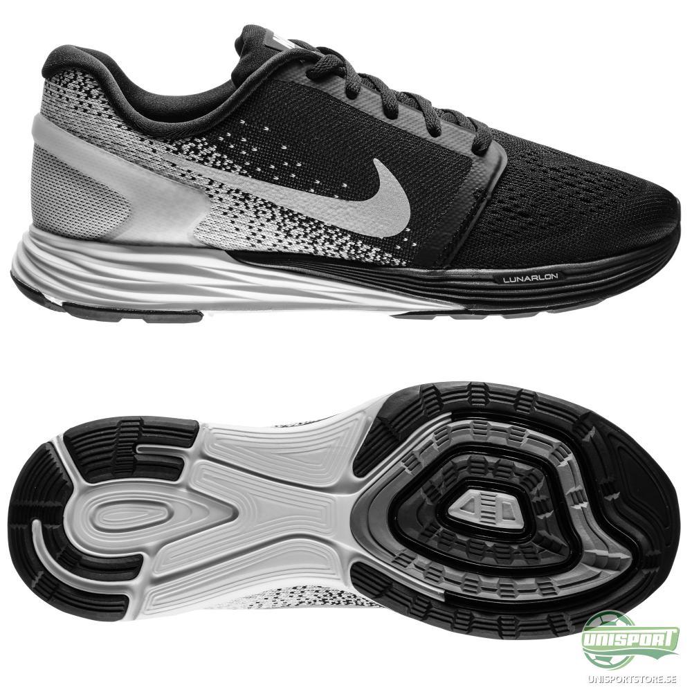 Nike Nike - Löparskor Lunarglide 7 Svart/Vit Barn