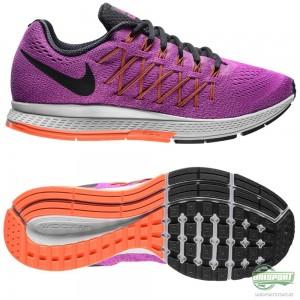 Nike Nike – Löparskor Air Zoom Pegasus 32 Lila/Orange/Svart Dam