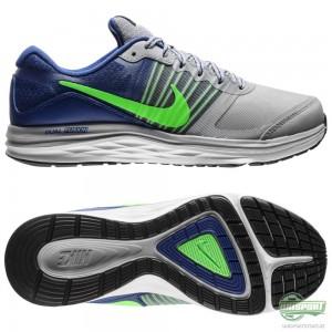 Nike Nike – Löparskor Dual Fusion X Grå/Blå/Grön Barn