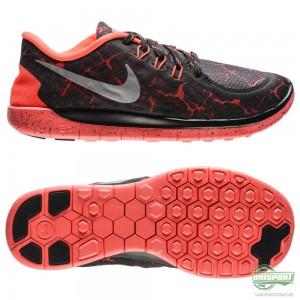 Nike Nike Free – Löparskor 5.0 Lava Svart/Röd Barn