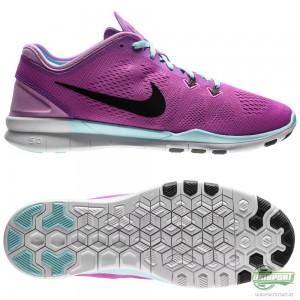 Nike Nike – Free 5.0 TR FIT 5 Lila/Svart/Turkos Dam