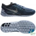 Nike Nike Free - Löparskor 5.0 Flash Blå
