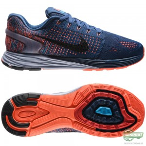 Nike Nike – Löparskor Lunarglide 7 Blå/Svart/Vit