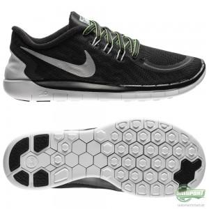 Nike Nike Free – Löparskor 5.0 Flash (GS) Svart/Silver Barn