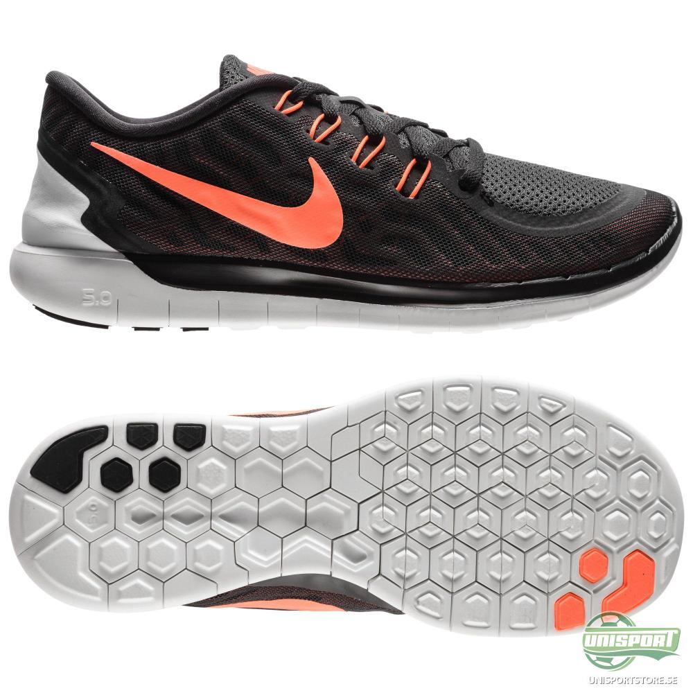Nike Nike Free - Löparskor 5.0 Svart/Orange