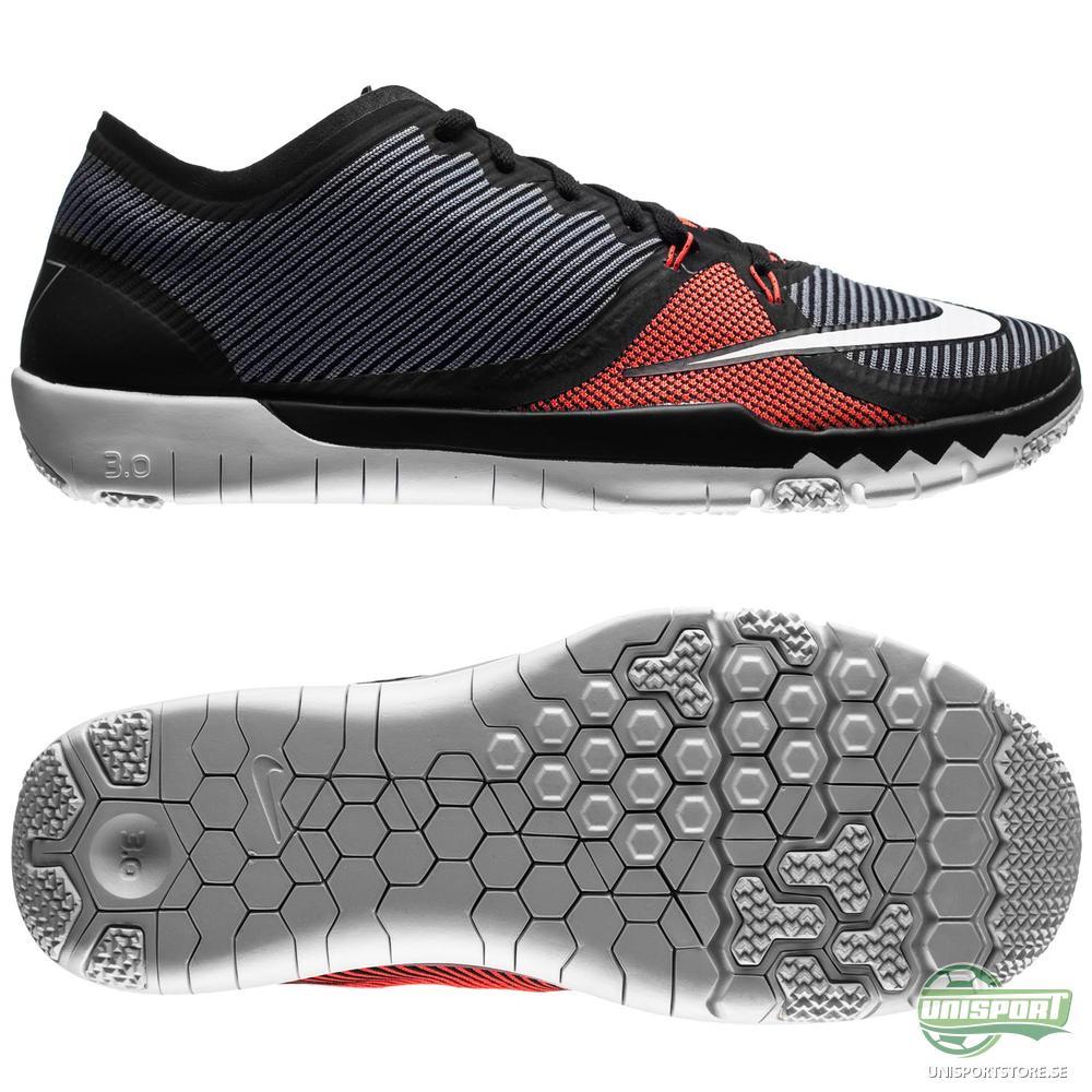 Nike Nike - Free 3.0 Trainer CR7 Madeira Grå/Röd
