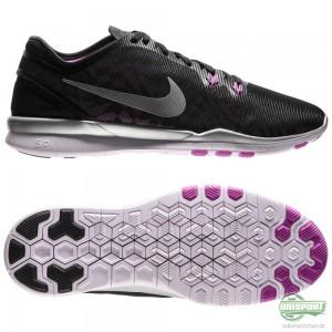 Nike Nike – Free 5.0 TR FIT 5 Svart/Silver/Lila Dam