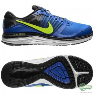 Nike Nike – Löparskor Dual Fusion X Blå/Svart/Guld Barn