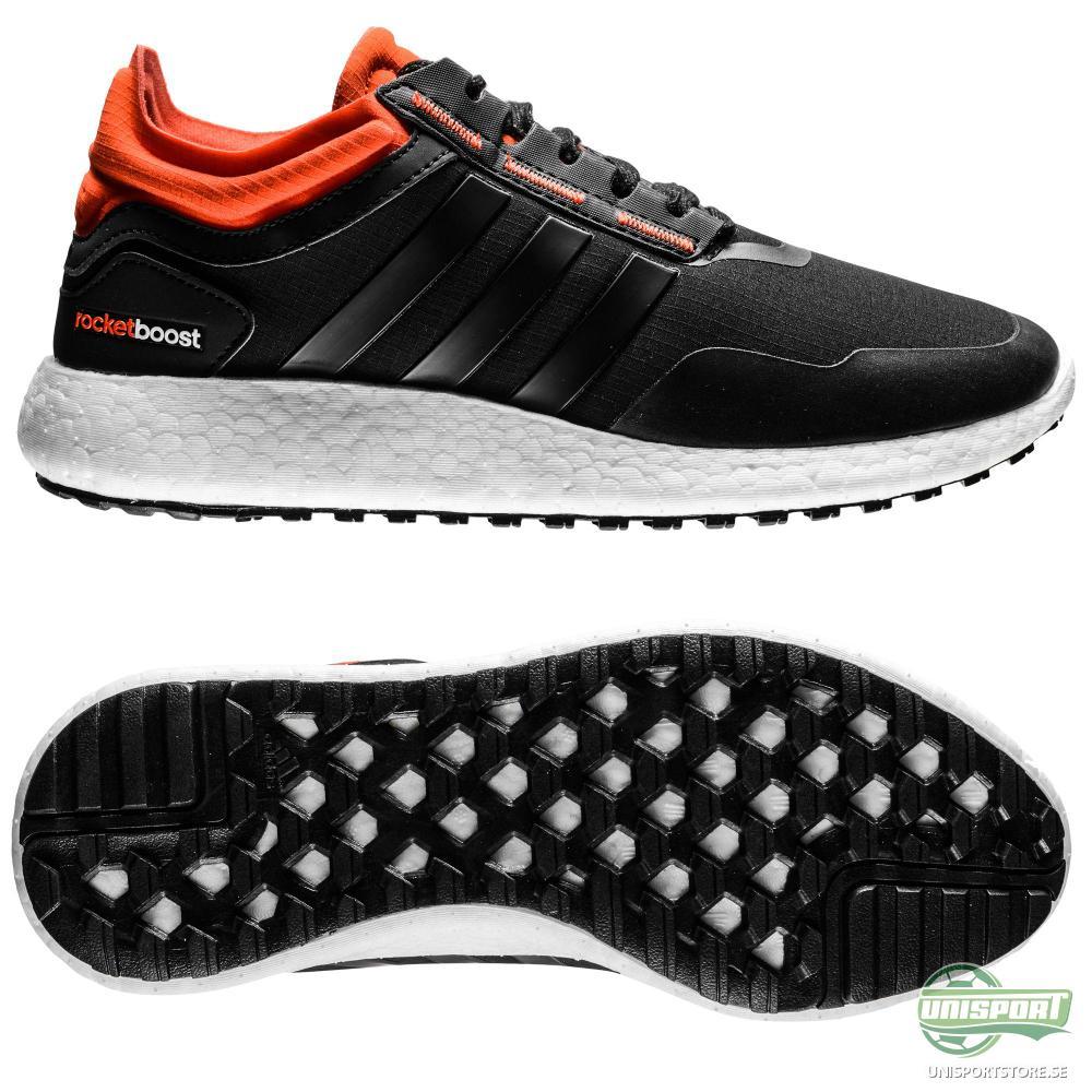adidas adidas - Löparsko Climaheat Rocket Boost Svart/Orange Barn