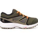 Shoes Sense Cswp J, Green/Black/Grey, 35, Salomon