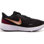 Nike Revolution 5 Women's Runn, Black/Metallic Copper-Night Ma, 44