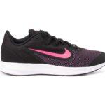Nike Downshifter 9 Big Kids' S, Black/Hyper Pink-White, 40